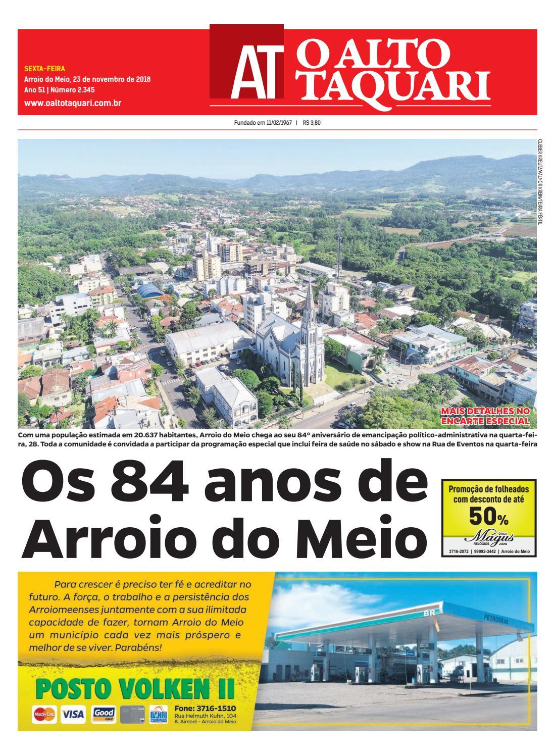 Jornal O Alto Taquari - 23 de novembro de 2018 by Jornal O Alto Taquari -  issuu fe352ad86c7