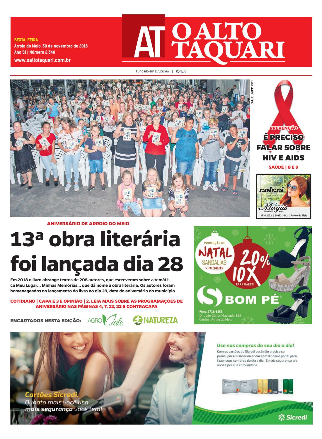 751a82df4 Jornal O Alto Taquari - 30 de novembro de 2018 by Jornal O Alto Taquari -  issuu