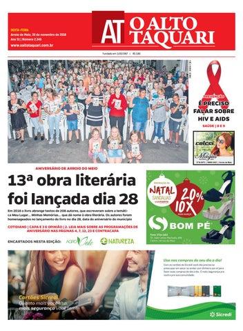 d891b5c5d0 Jornal O Alto Taquari - 30 de novembro de 2018 by Jornal O Alto ...