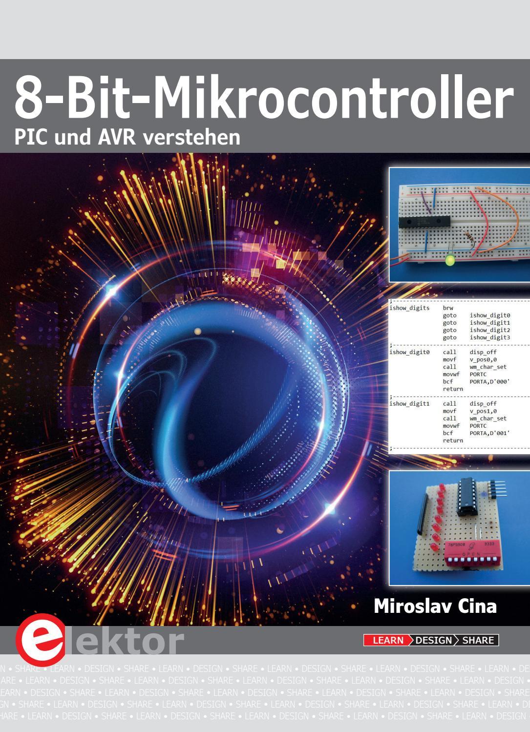 8 Bit Mikrocontroller Leseprobe by Elektor issuu