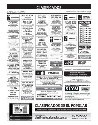 Clasificados del día 02 12 2018 by diarioelpopular - issuu 9cbad4efe17