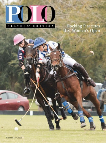 December 2018 Polo Players' Edition by United States Polo