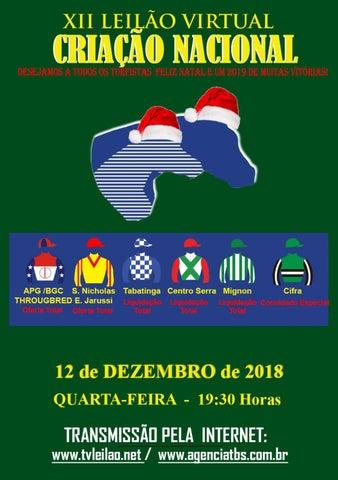 CATALOGO TBS CRIANZA NACIONAL BRASIL DICIEMBRE 12 by eleturf - issuu 6b366c9ee20c