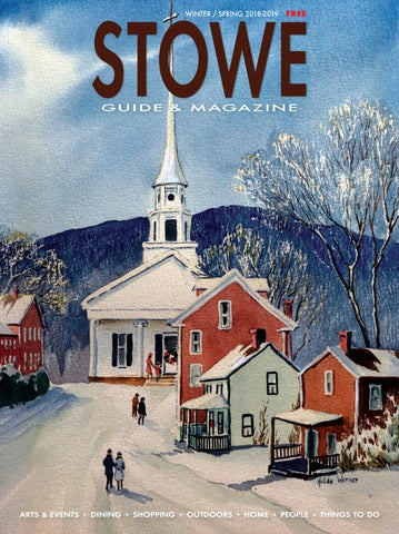 Stowe Guide Magazine Winterspring 2018 19 By Stowe Guide
