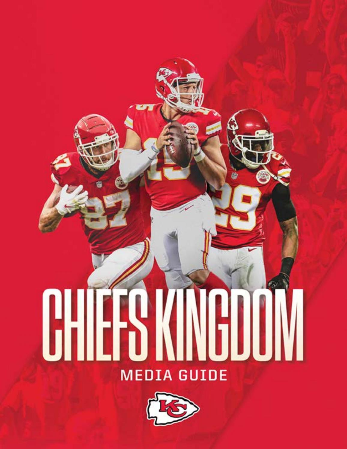 Kansas City Chiefs 2018 Media Guide By Kansas City Chiefs