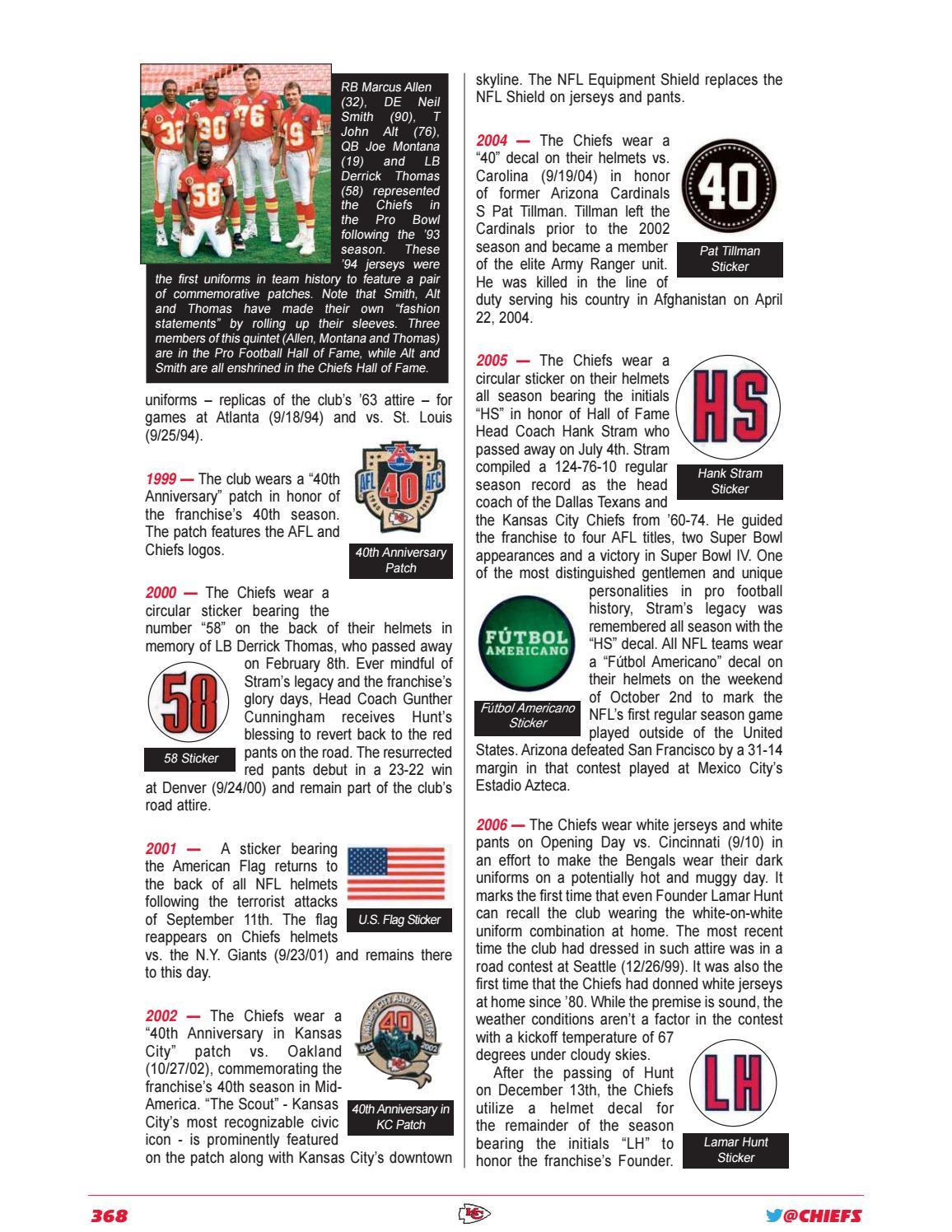 low priced c94bd 9b4b7 Kansas City Chiefs 2018 Media Guide by Kansas City Chiefs ...