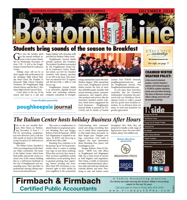 Bottom Line - December 2018 by Rich Kleban - issuu