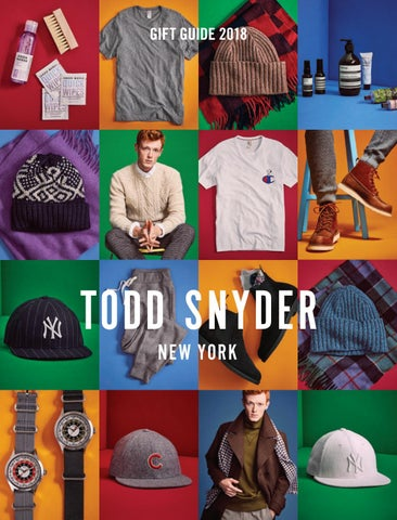 Todd Snyder Gift Guide 2018 by Todd Snyder - issuu aee04f11303
