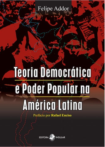 Teoria Democrática e Poder Popular na América Latina by Editora ... fba9e8ae6b1