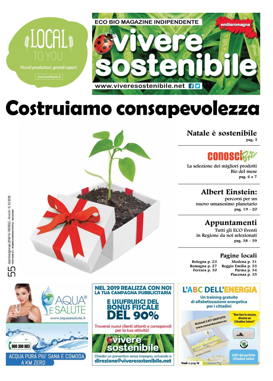 Nuova Fonte Del Materasso Bologna.Dicembre Con Vivere Sostenibile Emilia Romagna By