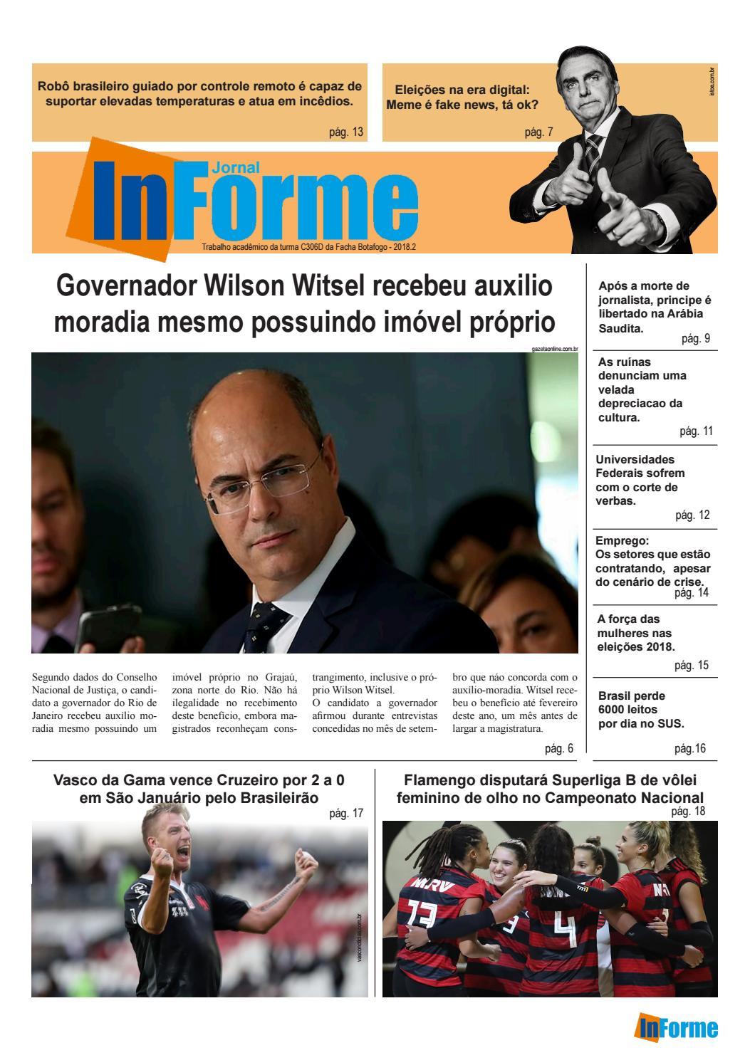 eefed05bac Jornal InForme C306D Facha 2018 2 by Gilvan Nascimento - issuu