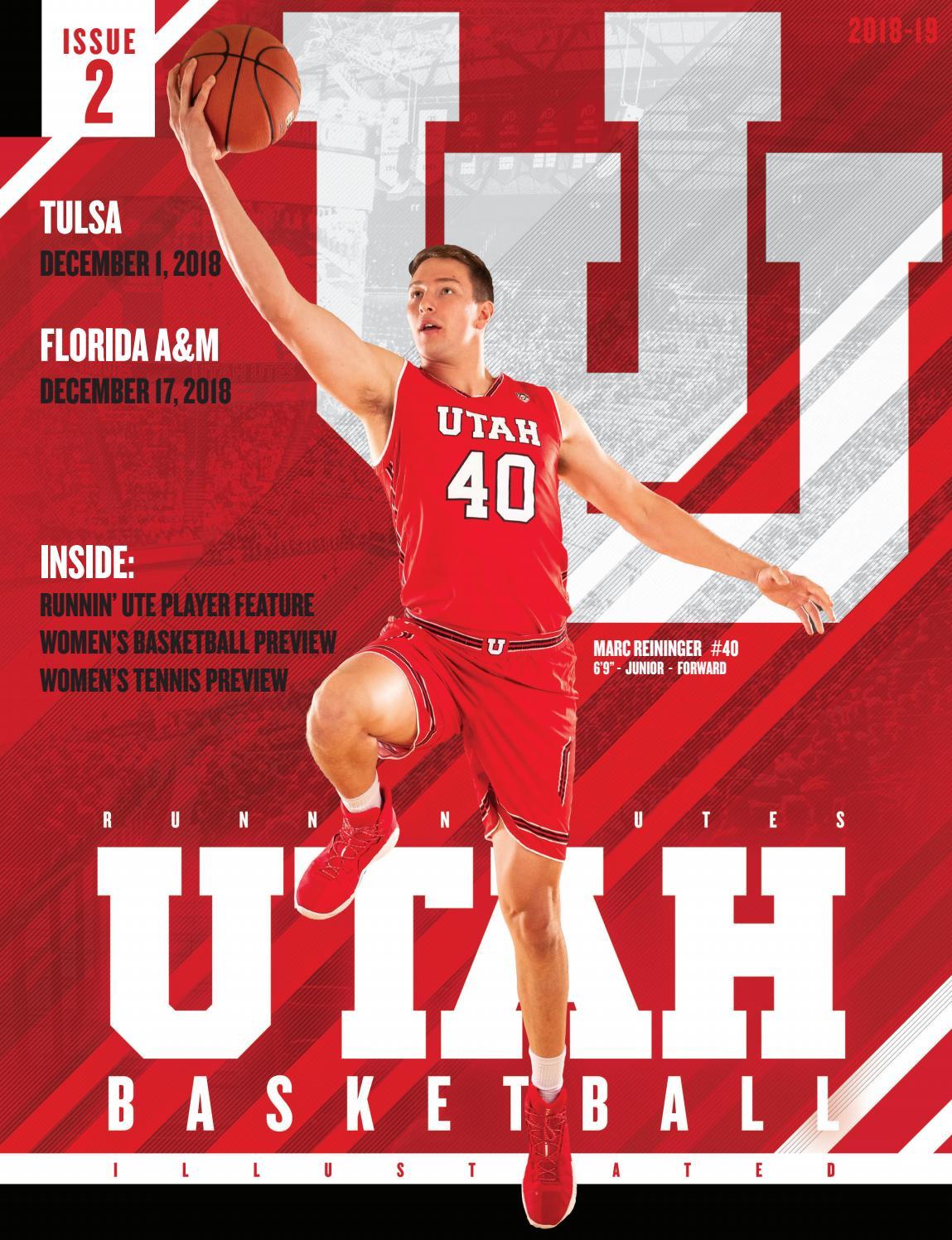 separation shoes 2400e 5c822 Utah Basketball 2018-19 Issue  2