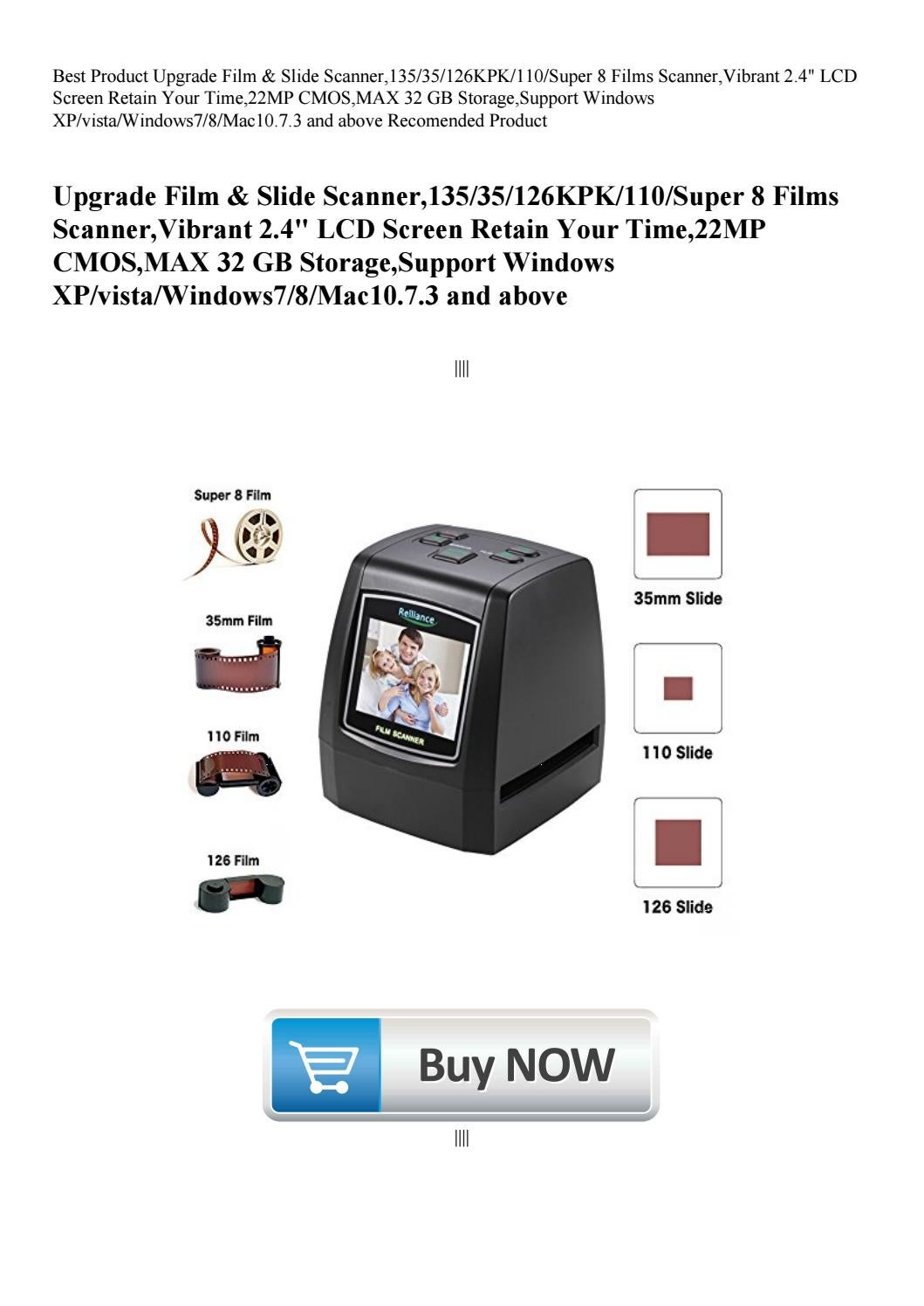 Best Product Upgrade Film & Slide Scanner