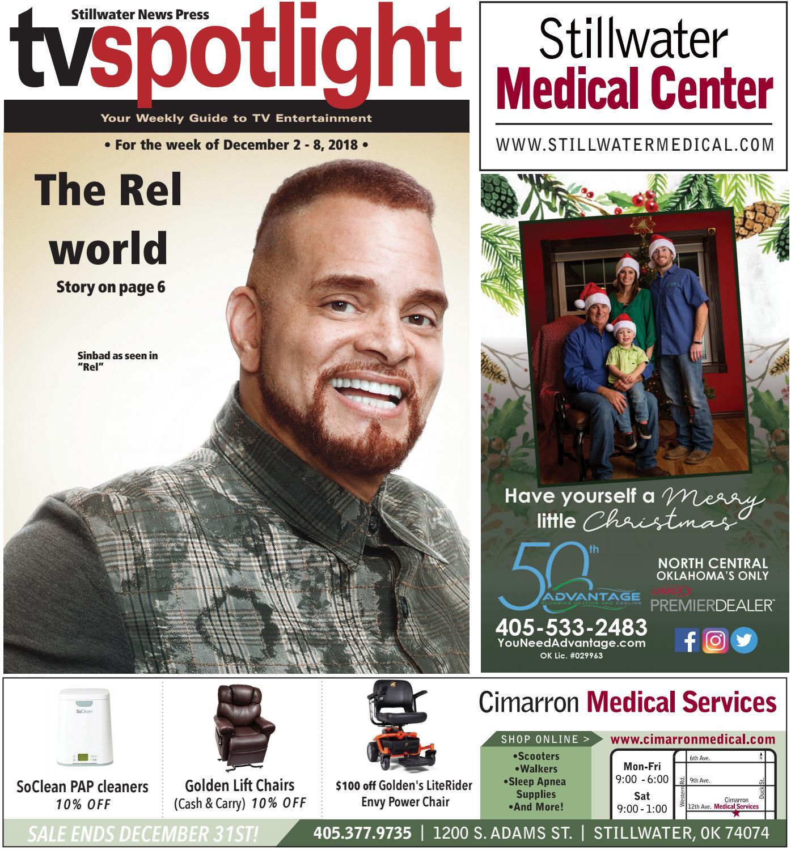 7fe833d09f TV Spotlight 12-2-18 by Stillwater News Press - issuu