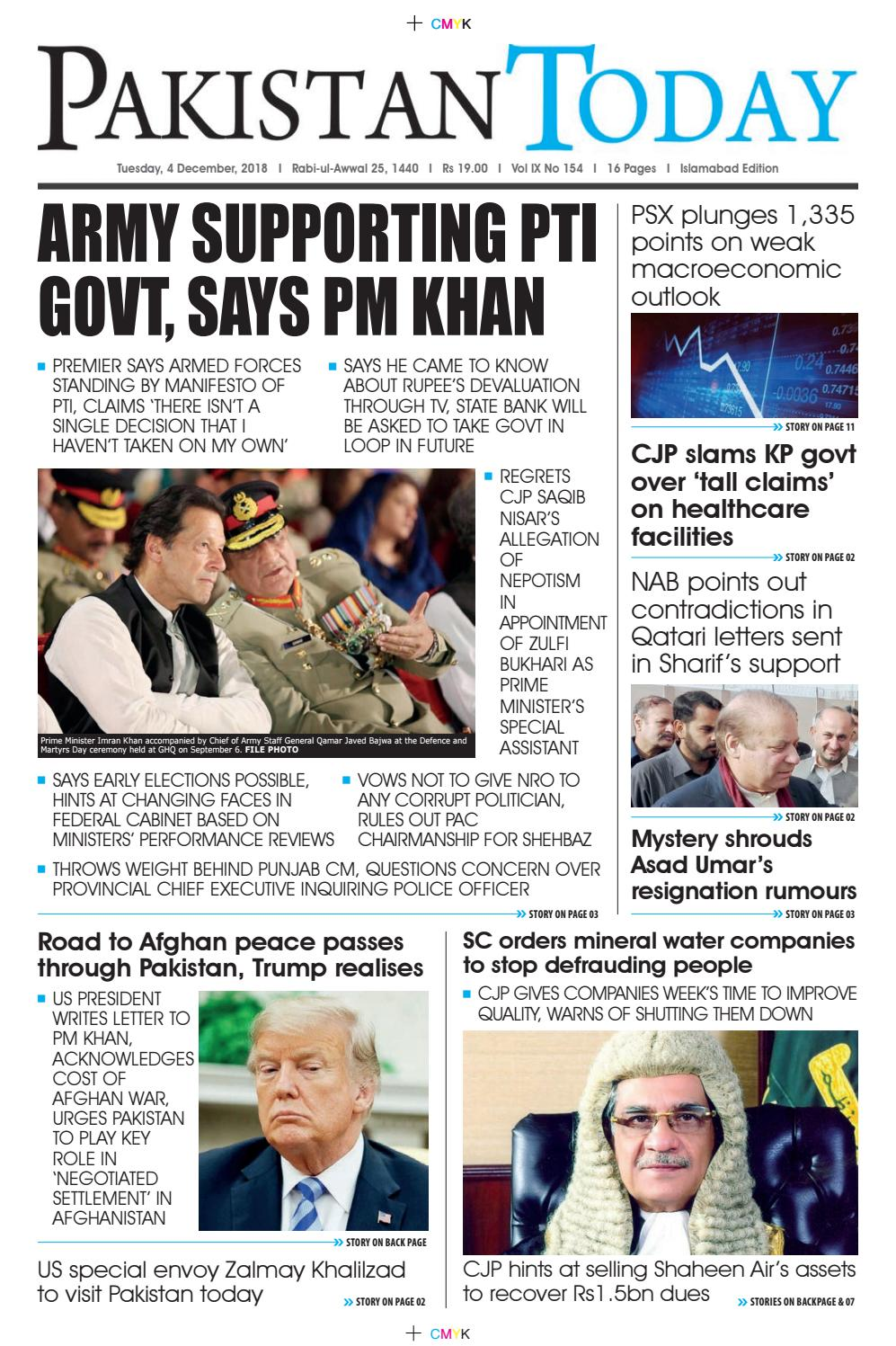 E-Paper PDF 04 December 2018 (ISB) by Pakistan Today - issuu
