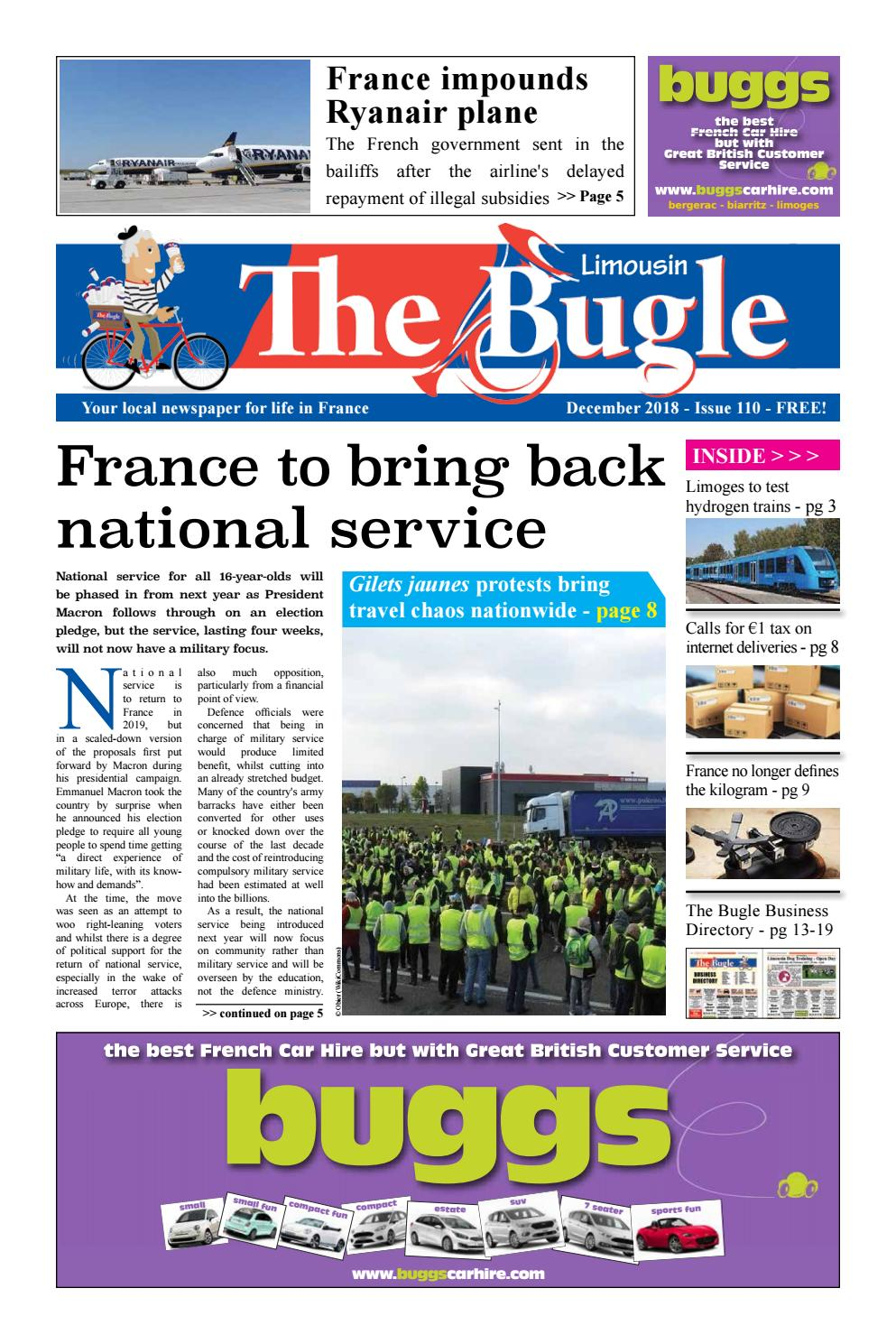 The Bugle Limousin Dec 2018 By The Bugle Issuu