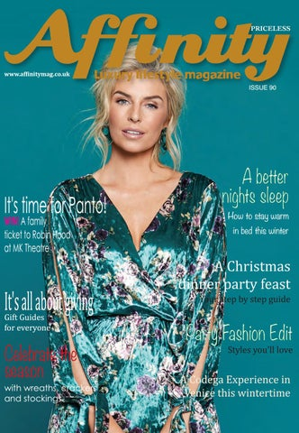 5cd0ce08c6a7c7 Affinity Luxury Lifestyle Magazine December 2018 by jane fry - issuu