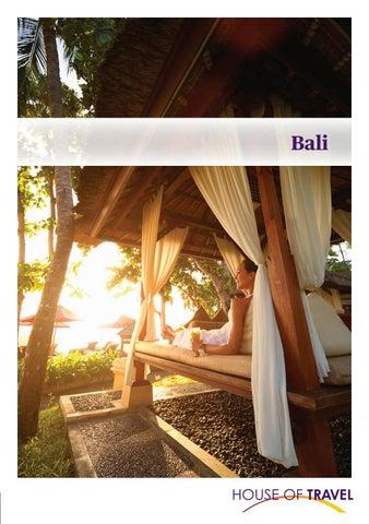 Carte Bali Serangan.Bali Brochure 2019 By House Of Travel Issuu