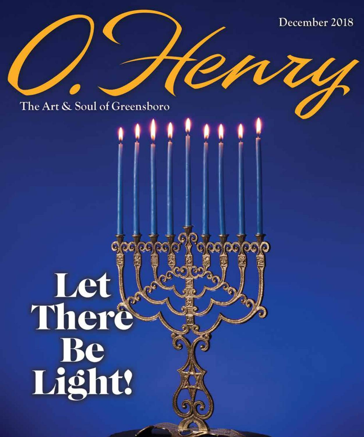 December O Henry 2018 by O Henry magazine - issuu