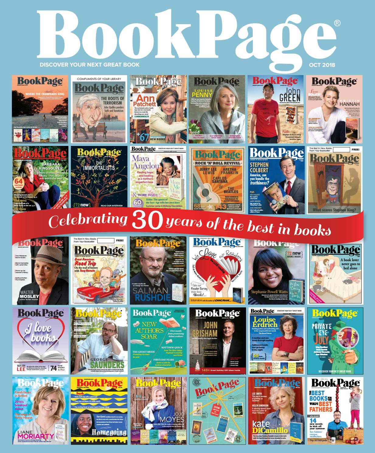 BookPage October 2018 by BookPage - issuu