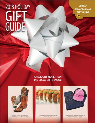 9f652a5c519 Holiday Gift Guide 2018 by Billings Gazette - issuu