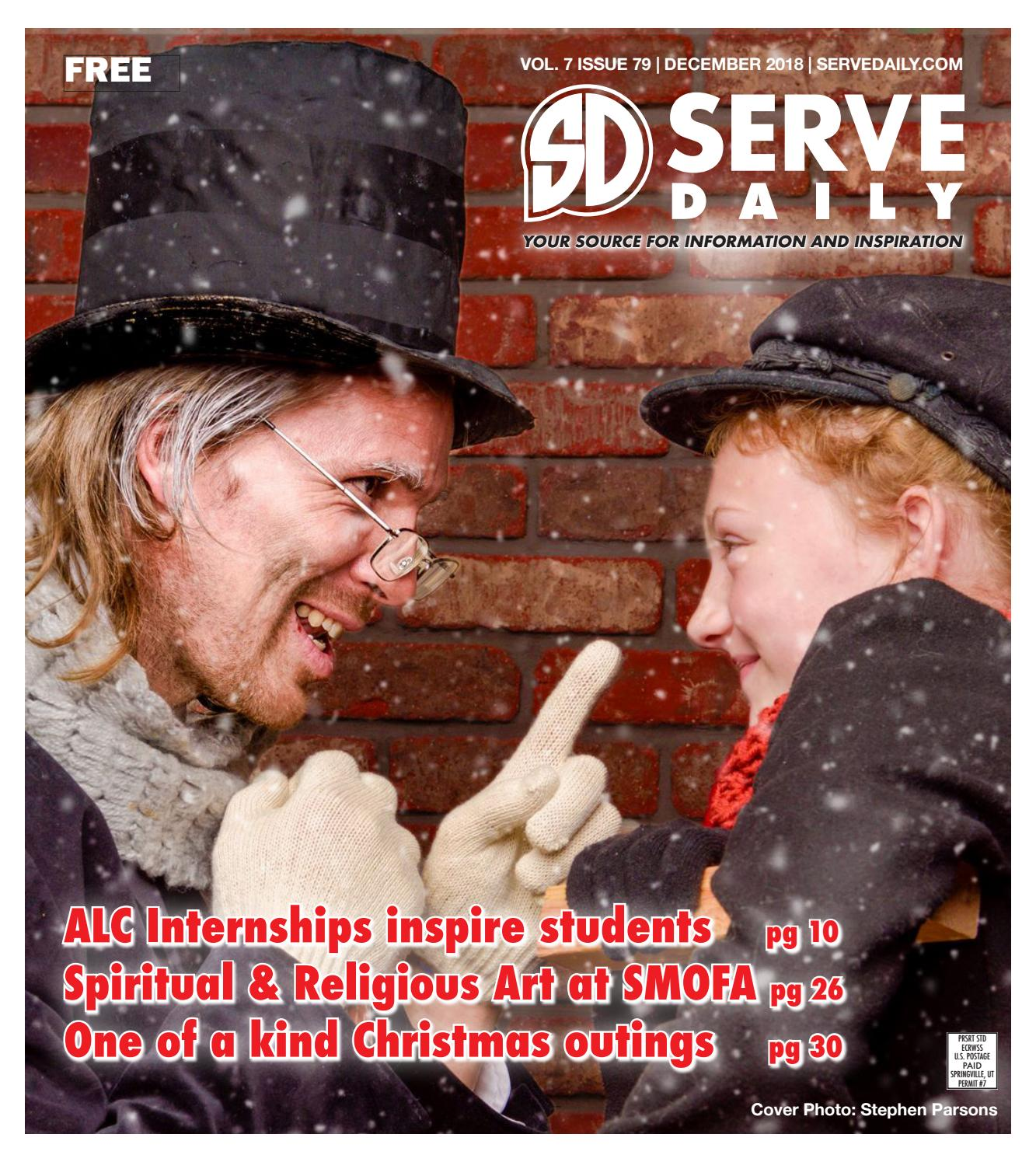 feec0e0965b Serve Daily Volume 7, Issue 79 December 2018 by Serve Daily - issuu