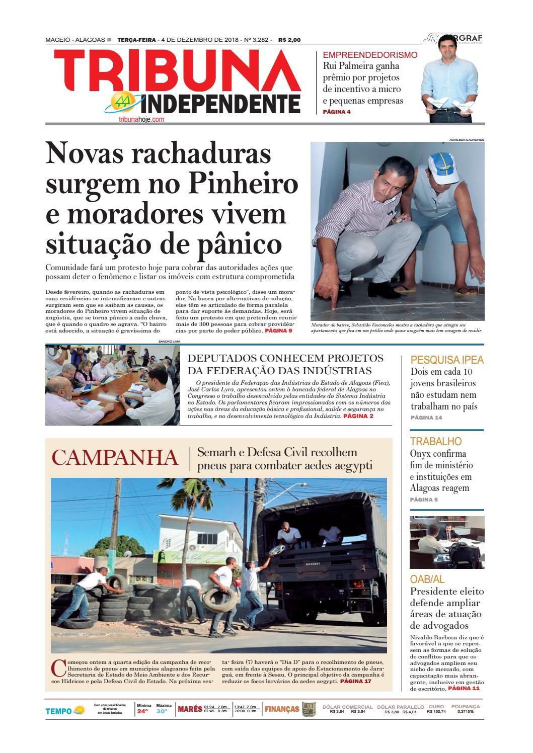 272743f9bb Edição número 3282 - 4 de dezembro de 2018 by Tribuna Hoje - issuu