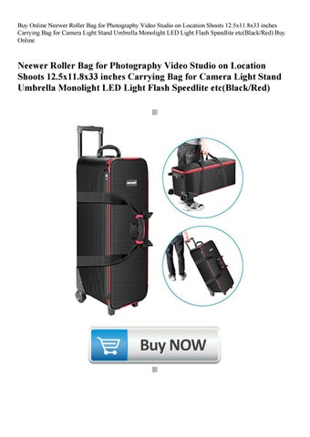 8d23a5a533 Buy Online Neewer Roller Bag for Photography Video Studio on Location  Shoots 12.5x11.8x33 inches Car