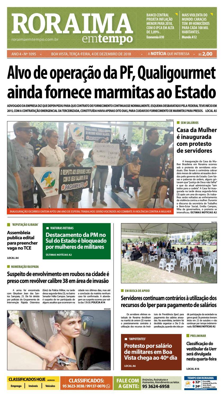 18e555f975f Jornal Roraima em tempo – edição 1095 by RoraimaEmTempo - issuu