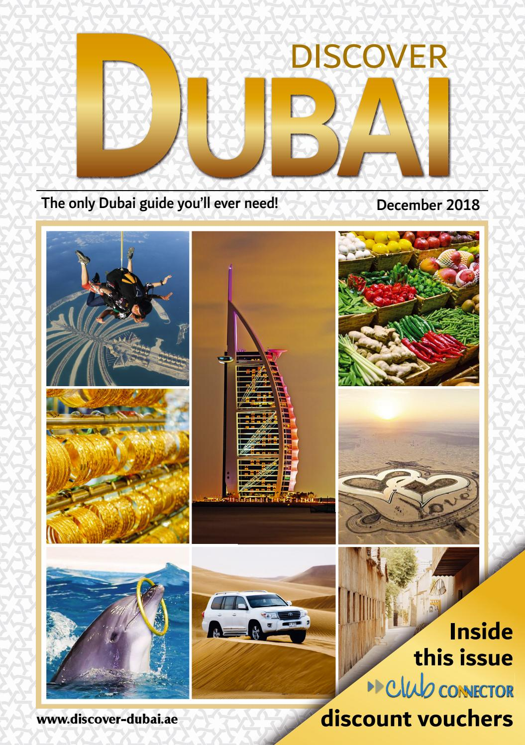 December 2018 Discover Dubai by Connector Publishing - issuu