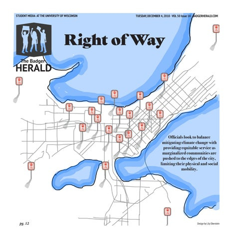 Right of Way' - Volume 50, Issue 14 by The Badger Herald - issuu