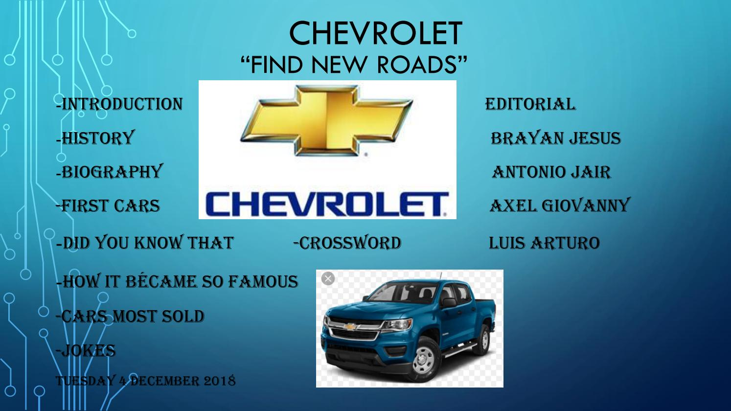 Chevrolet The Best Company Of World By Axel123giovanny Issuu