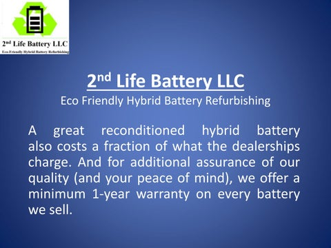 Hybrid Battery Cost >> Affordable Toyota Prius Hybrid Battery Replacement Cost In
