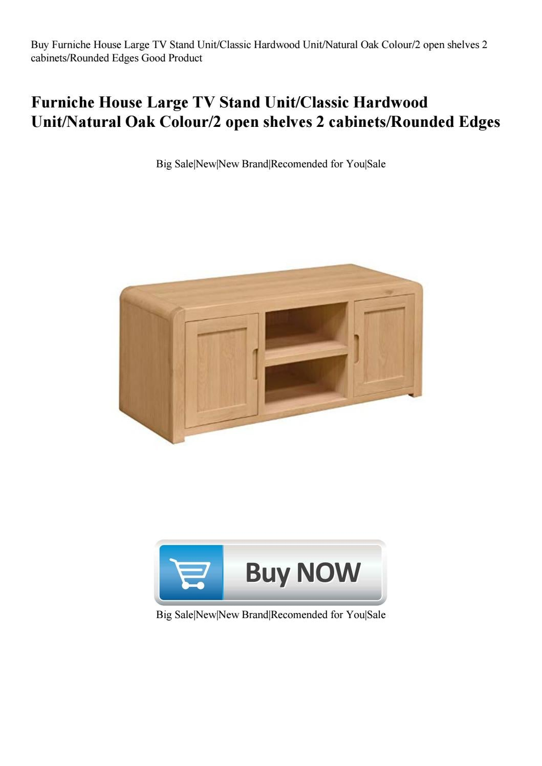 Buy Furniche House Large TV Stand UnitClassic Hardwood