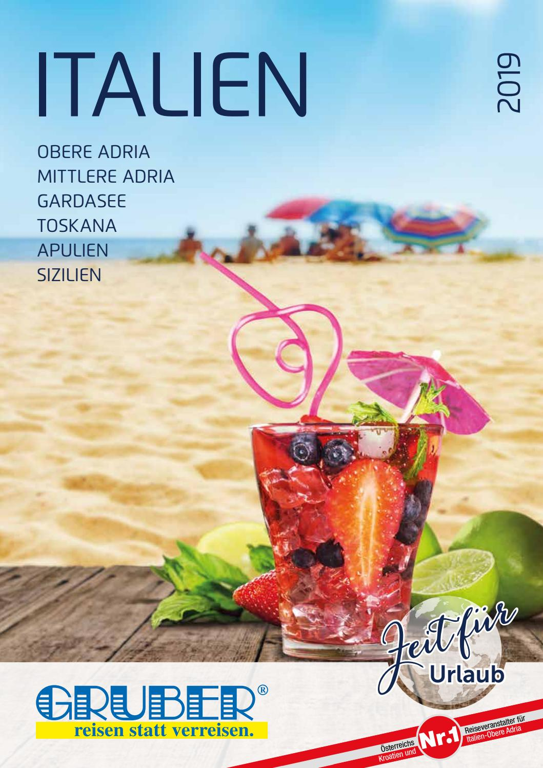 Italien Obere Adria Karte.Gruber Reisen Italien Katalog 2019 By Gruber Reisen Issuu