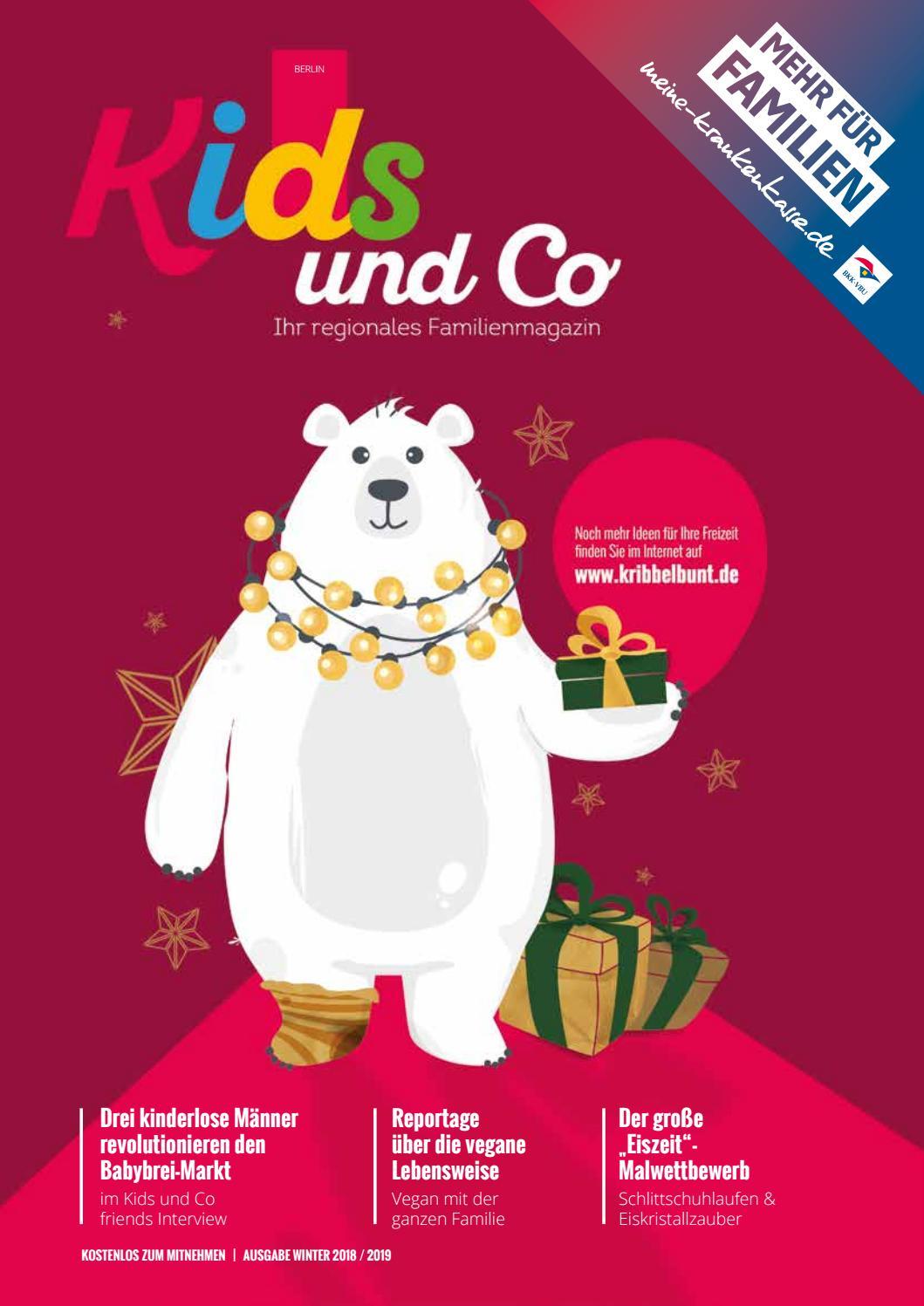 KIDS und Co Berlin, Ausgabe Winter 20182019 by CALA Verlag