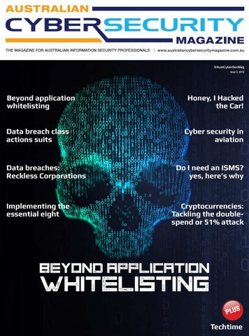 25e208b9ba Australian Cyber Security Magazine, ISSUE 6, 2018 by Asia Pacific ...
