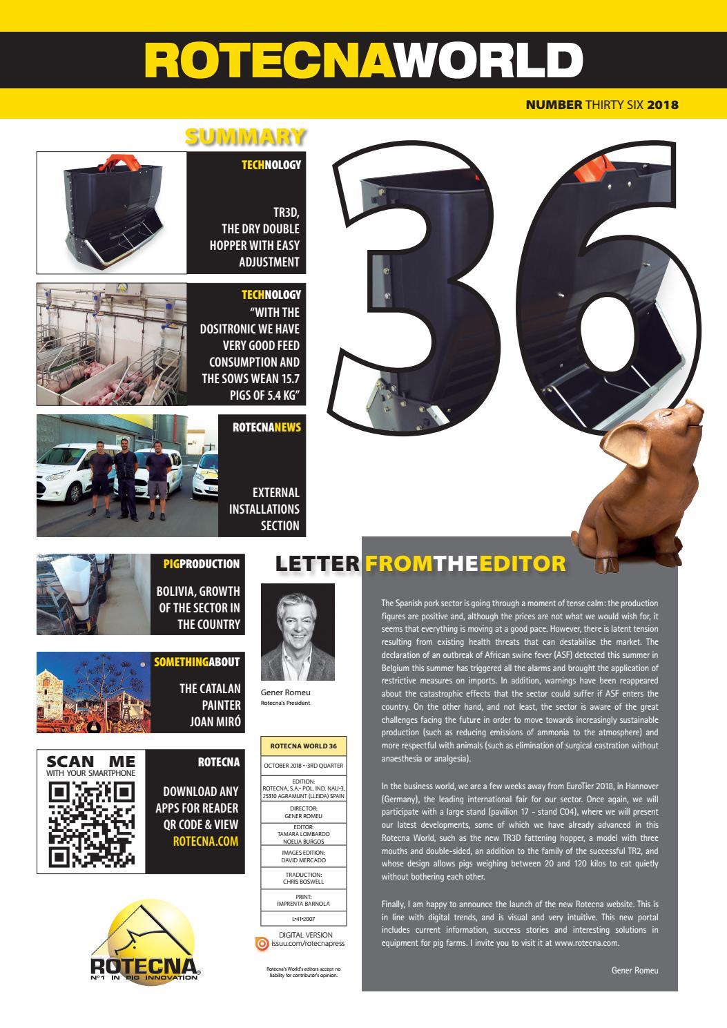 36 ROTECNA WORLD By Rotecna S A Issuu