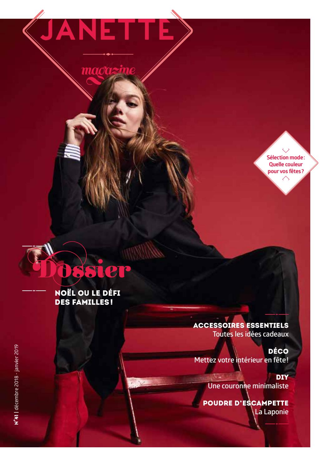 Janette issuu Magazine Janette 2018 Decembre by 41 Pwk08On