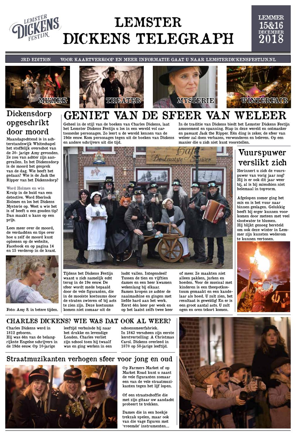 Lemster Dickens Telegraph By Qamedia Issuu