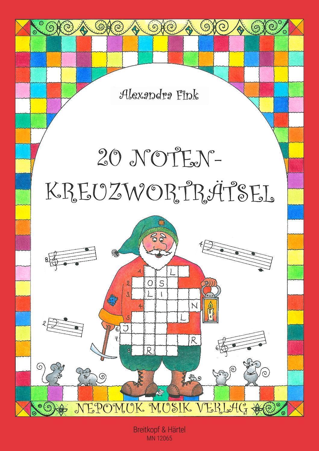 Fink – 20 Notenkreuzworträtsel by Breitkopf & Härtel   issuu