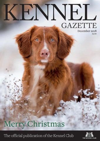 Kennel Gazette December 2018 by The Kennel Club - issuu
