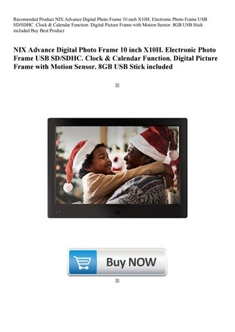 Recomended Product Nix Advance Digital Photo Frame 10 Inch X10h