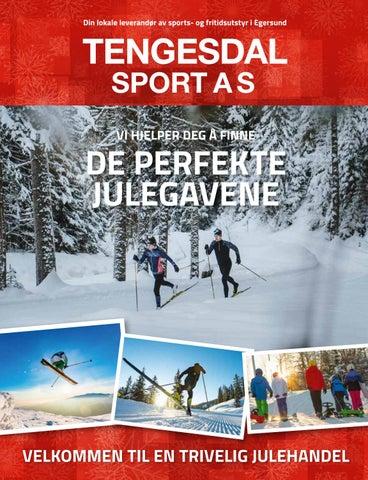 29acb17a Tengesdal Sport - Julekatalog 2018 by Stadion AS - issuu