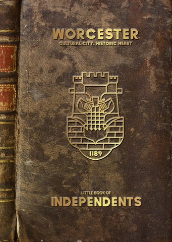 Worcesters Little Book Of Independents By 773c Issuu