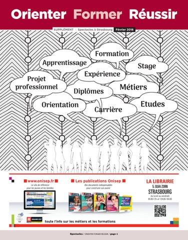 Orienter Former Réussir SUPPLÉMENT I Spectacles à Strasbourg. Apprentissage  Projet professionnel. Le site de référence pour les ... fe653d27a089
