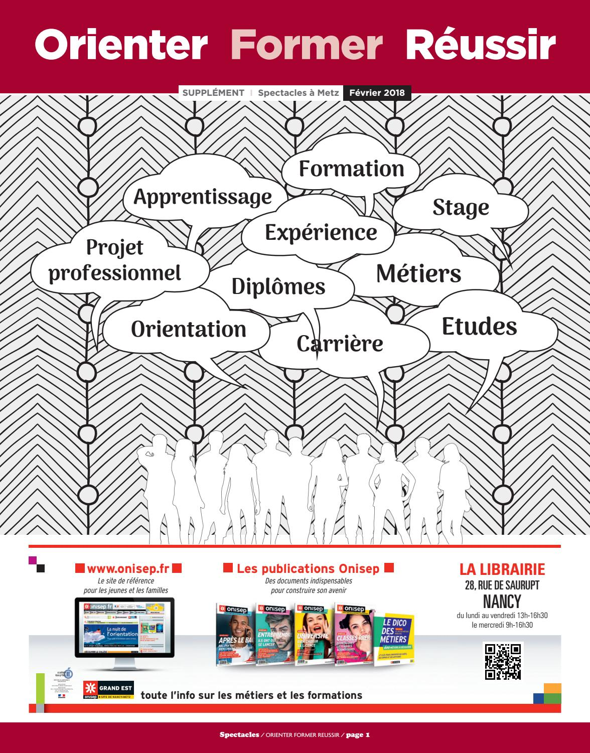 Metz Supplement Formation Spectacles Publications N 297