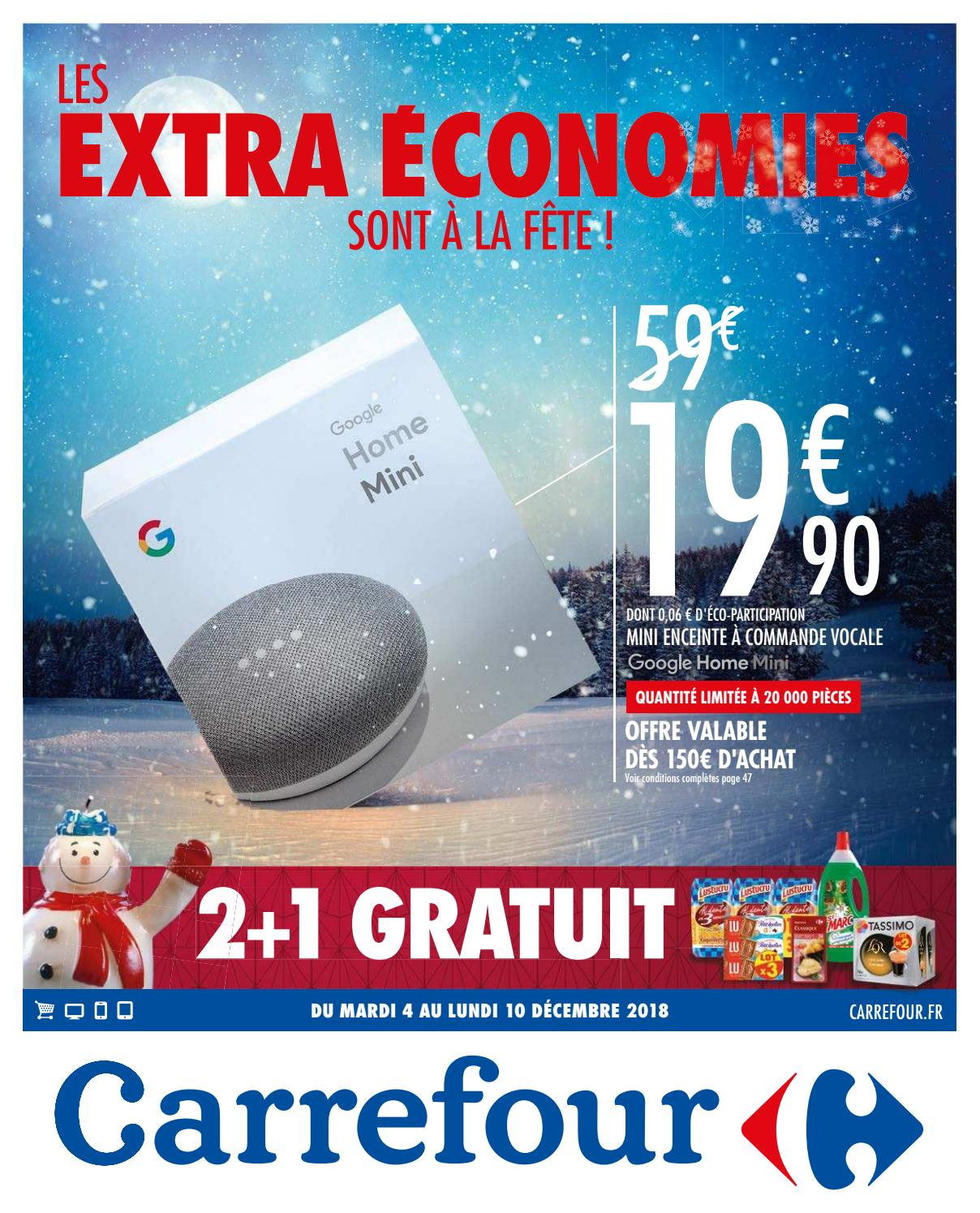 Catalogue Carrefour Du 4 Au 10 Décembre 2018 By