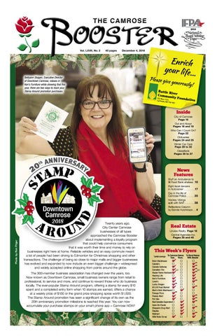 December 4, 2018 Camrose Booster by The Camrose Booster - issuu