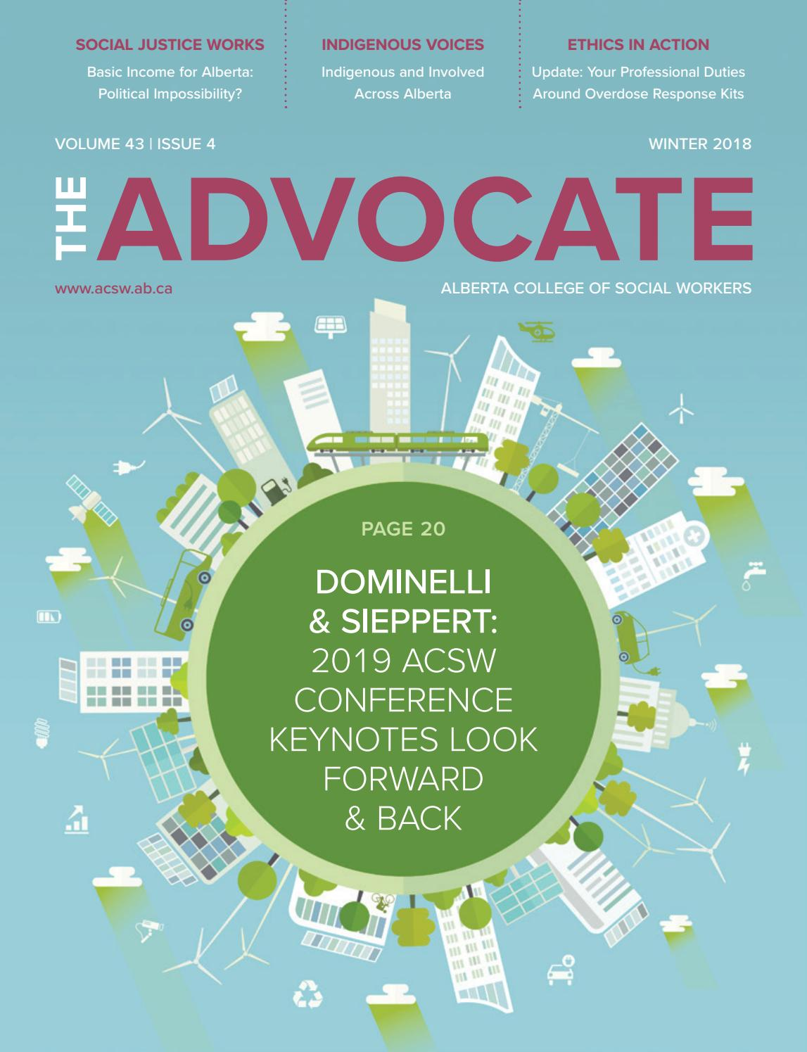 The Advocate - Winter 2018 by ACSW - Issuu
